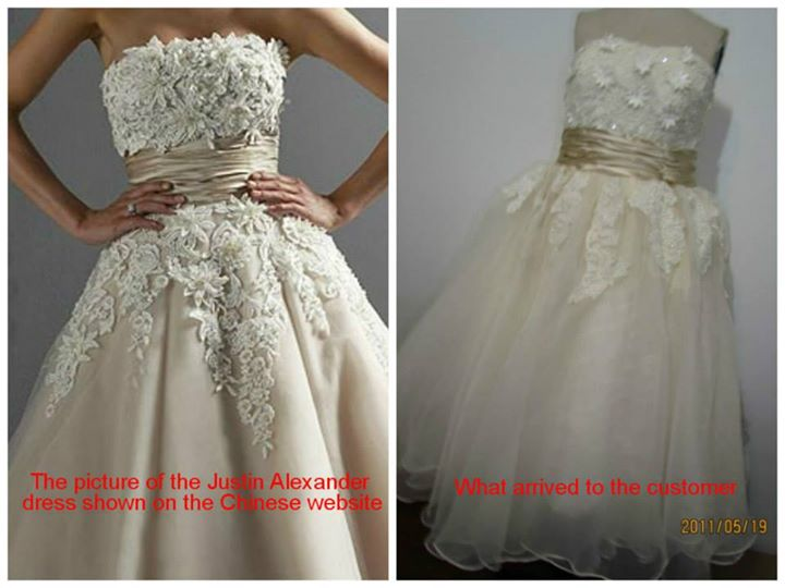 Wedding Dress - What You Ordered vs What Came13