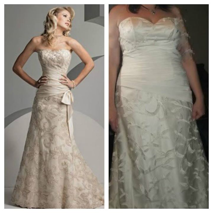 Wedding Dress - What You Ordered vs What Came14