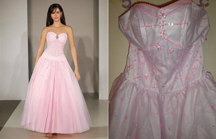 Wedding Dress - What You Ordered vs What Came3