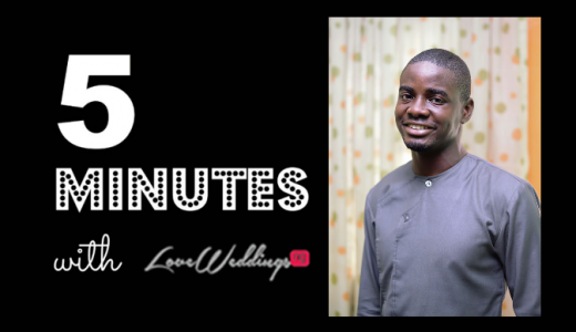 5 minutes with Gbenga Dada Artsmith Collections LoveweddingsNG