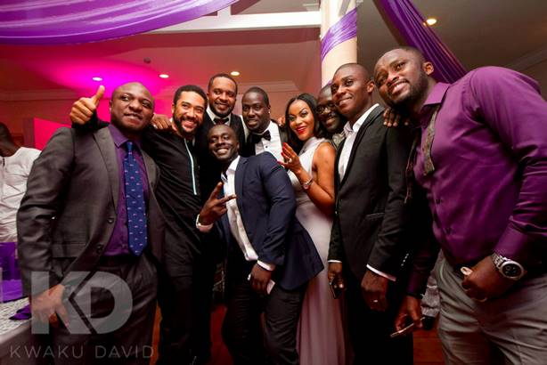 Chris Attoh Damilola Adegbite Wedding LoveweddingsNG1