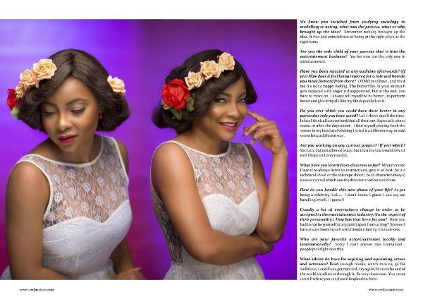 Linda Ejiofor Cedar Magazine LoveweddingsNG