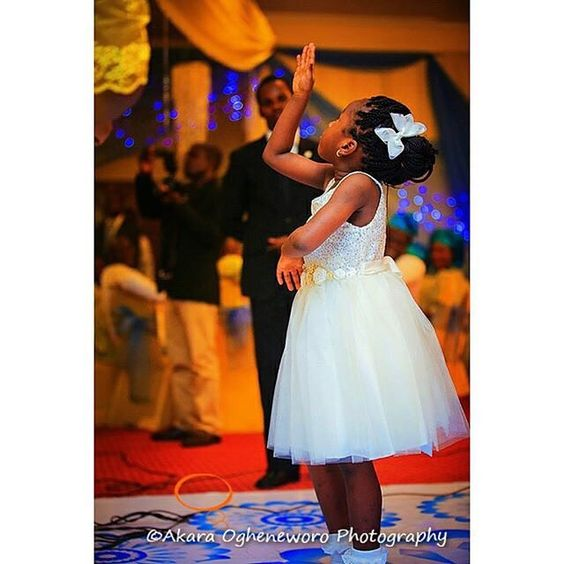 Little Children at Nigerian Weddings Akara Ogheneworo Photography LoveWeddingsNG