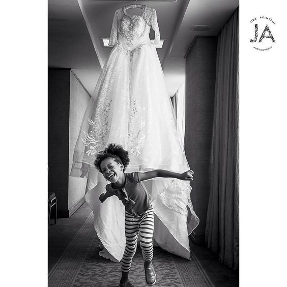 Little Children at Nigerian Weddings Jide Akinyemi Photography LoveWeddingsNG