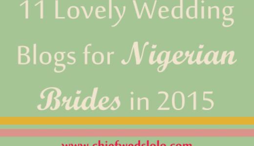 LoveweddingsNG Chief Weds Lolo Nigerian Wedding Blogs