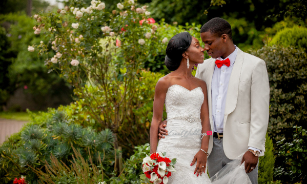 LoveweddingsNG White Wedding Deji and Hannah