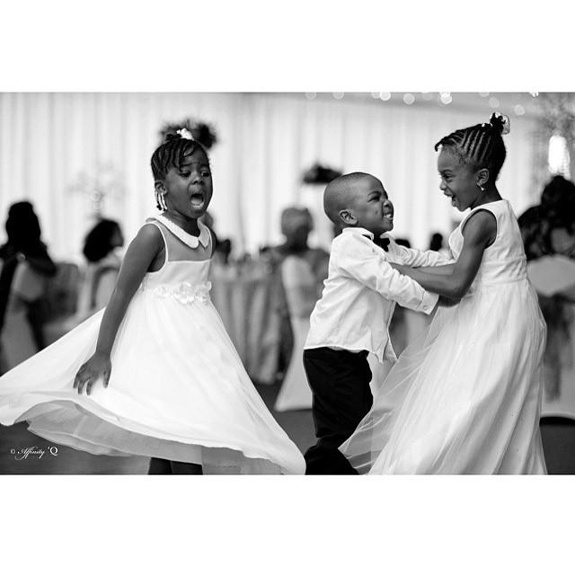 Loveweddingsng Little Bride and groom Affinity Q