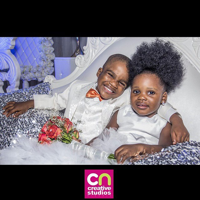 Loveweddingsng Little Bride and groom