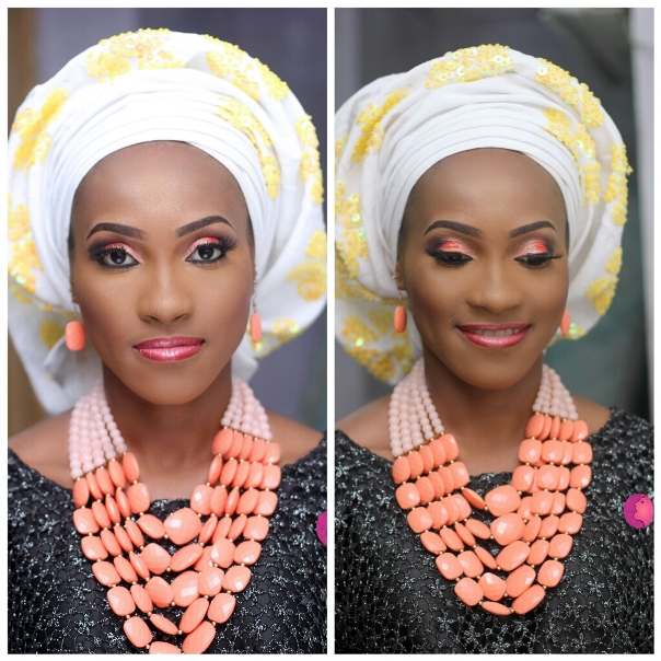 Nigerian Bridal Inspiration - Makeup by Ashabee LoveweddingsNG