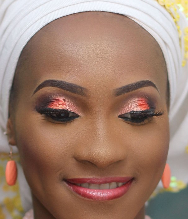 Nigerian Bridal Inspiration - Makeup by Ashabee LoveweddingsNG1