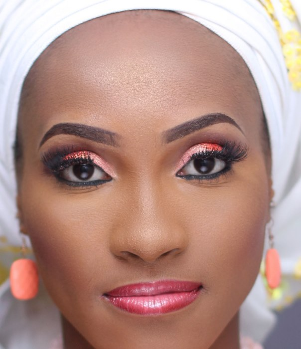 Nigerian Bridal Inspiration - Makeup by Ashabee LoveweddingsNG2