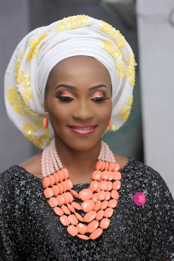 Nigerian Bridal Inspiration - Makeup by Ashabee LoveweddingsNG3