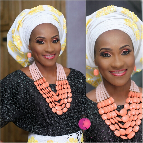Nigerian Bridal Inspiration - Makeup by Ashabee LoveweddingsNG5