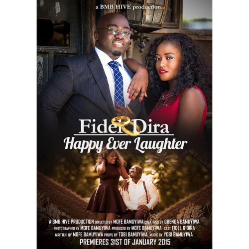 Nigerian Save The Date Prewedding - Fidel and Dira