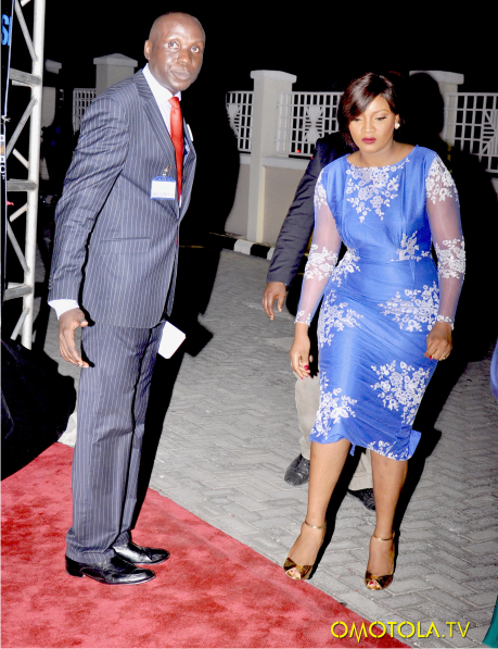 Nigerian Wedding Guest Inspiration - Omotola Jalade Ekeinde Selma LoveweddingsNG1