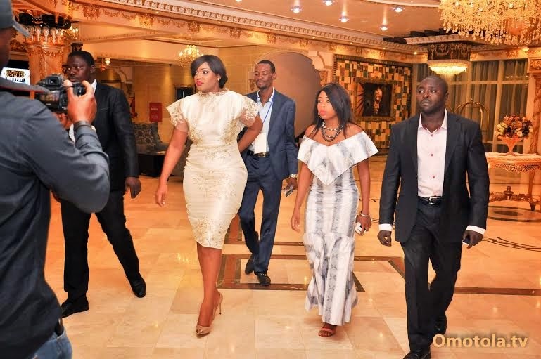 Omotola Jalade Wedding Pictures