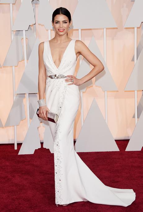Oscars 2015 - Jenna Dewan Tatum in Reem Acra