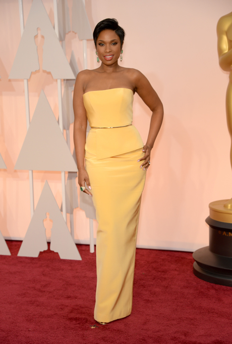 Oscars 2015 - Jennifer Hudson in Romona Keveza