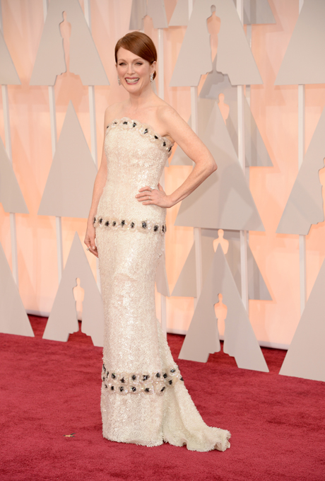 Oscars 2015 - Julianne Moore in Chanel