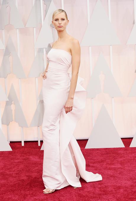 Oscars 2015 - Karolina Kurkova in Marchesa