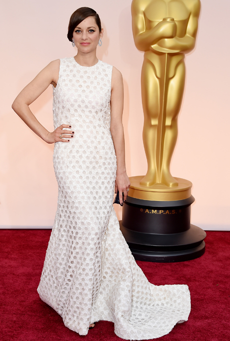 Oscars 2015 - Marion Cotillard in Christian Dior Haute Couture