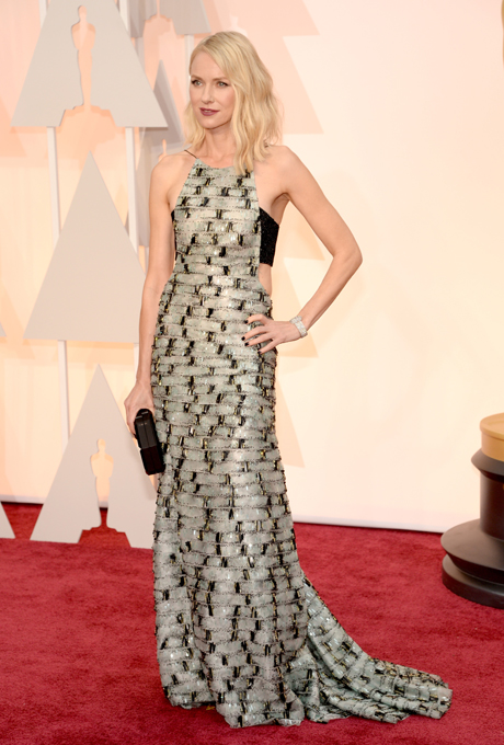 Oscars 2015 - Naomi Watts in Armani Privé