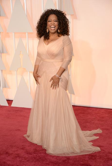 Oscars 2015 - Oprah in Vera Wang