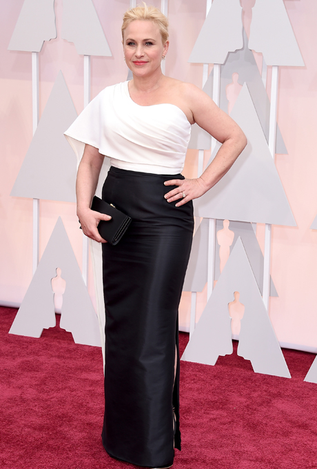 Oscars 2015 - Particia Arquette in Rosetta Getty