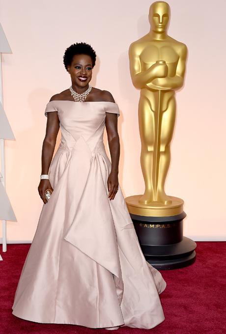Oscars 2015 -Viola Davis in Escada