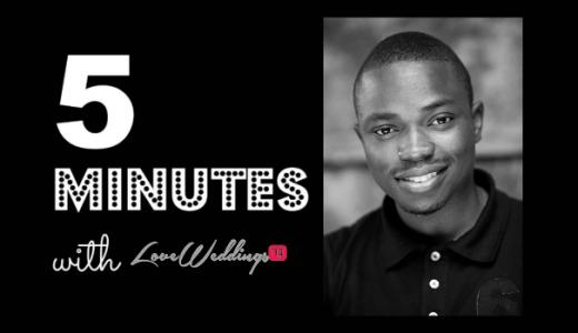 5 minutes with iamb.lawz LoveweddingsNG