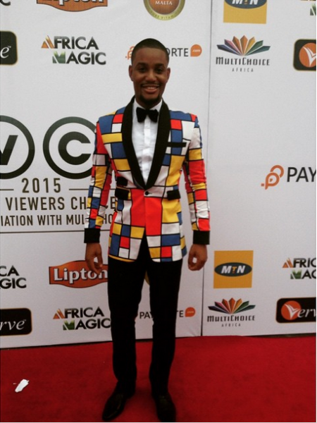 AMVCA 2015 - Alex Ekubo LoveweddingsNG Red Carpet to Aisle