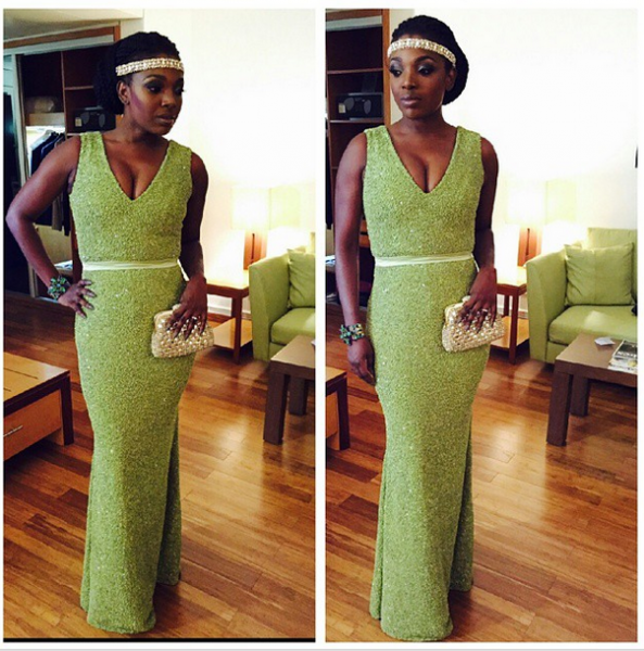 AMVCA 2015 - Anne Idibia LoveweddingsNG Red Carpet to Aisle