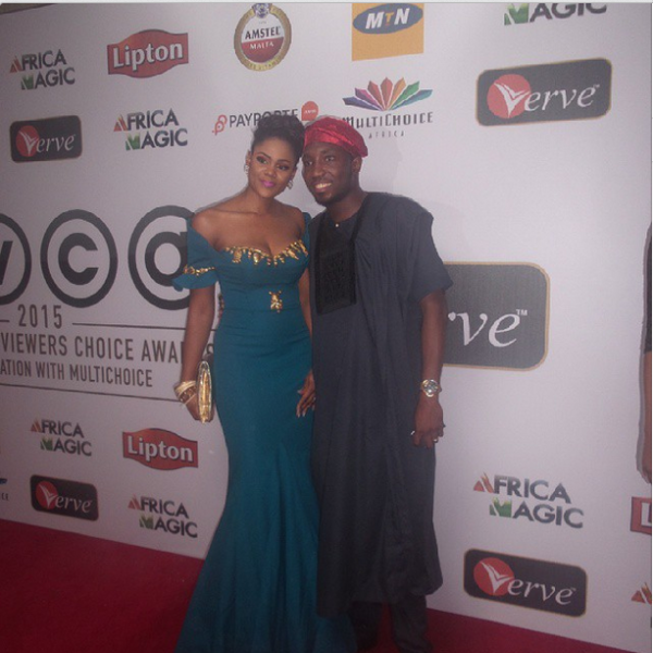 AMVCA 2015 - Busola Dakolo & Timi Dakolo LoveweddingsNG Red Carpet to Aisle