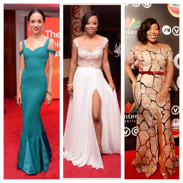 AMVCA 2015 - Eku Edewor, Toke Makinwa, Rita Dominic LoveweddingsNG