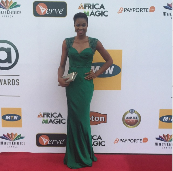 AMVCA 2015 - Ezinne Akudo LoveweddingsNG Red Carpet to Aisle
