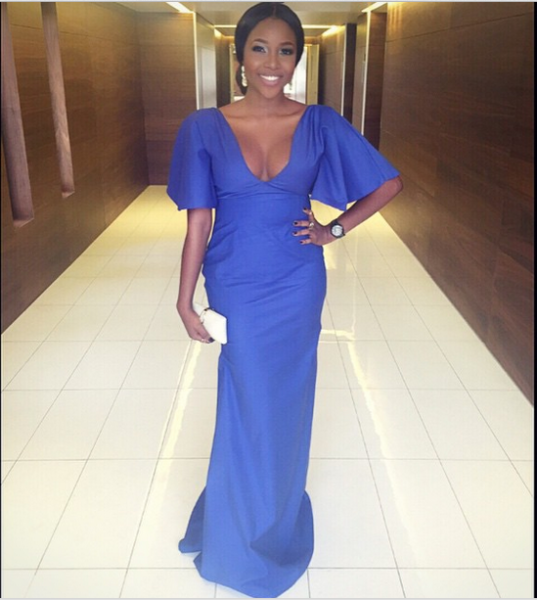 AMVCA 2015 - Inidima Okojie LoveweddingsNG Red Carpet to Aisle