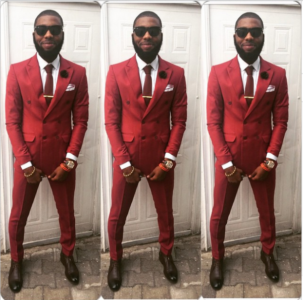 AMVCA 2015 - Jeremiah Ogbodo LoveweddingsNG Red Carpet to Aisle