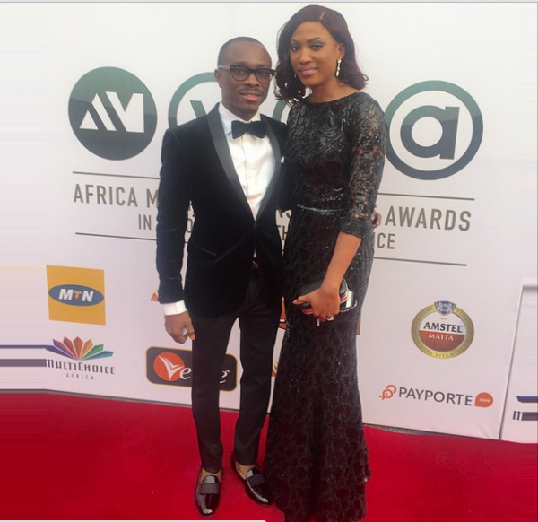 AMVCA 2015 - Julius Agwu & Ibiere Agwu LoveweddingsNG Red Carpet to Aisle