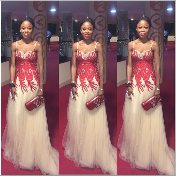 AMVCA 2015 - Mariam Adeyemi LoveweddingsNG Red Carpet to Aisle