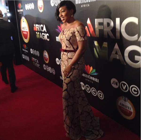 AMVCA 2015 - Rita Dominic LoveweddingsNG Red Carpet to Aisle