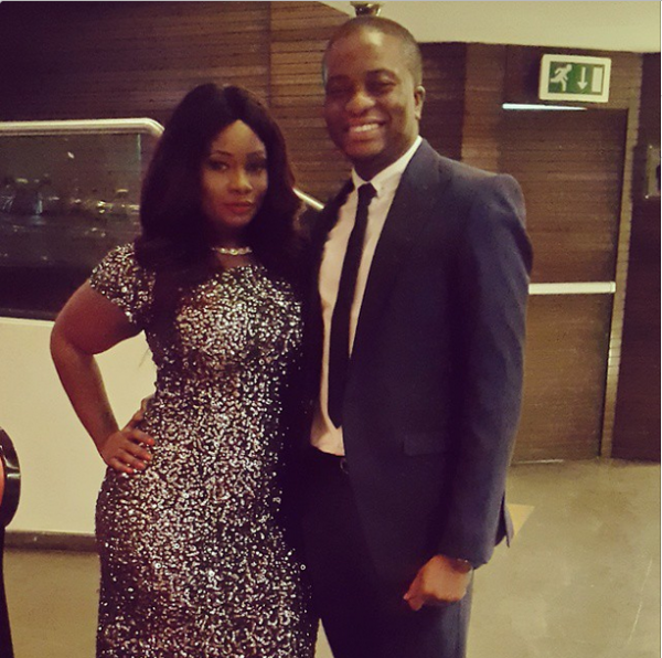 AMVCA 2015 - Toolz & Tunde Demuren LoveweddingsNG Red Carpet to Aisle