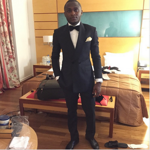 AMVCA 2015 - Ubi Franklin LoveweddingsNG Red Carpet to Aisle