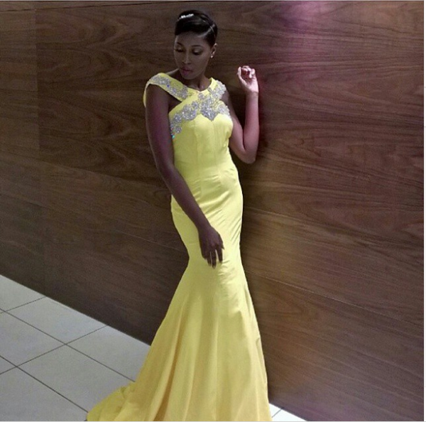 AMVCA 2015 - Vimbai Mutinhiri LoveweddingsNG Red Carpet to Aisle