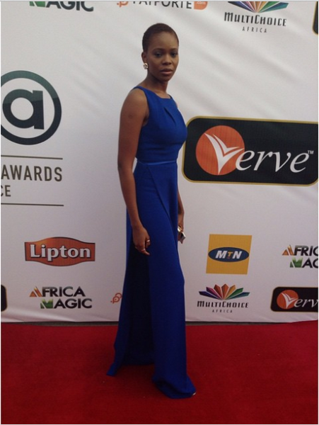 AMVCA 2015 - Zainab Balogun LoveweddingsNG Red Carpet to Aisle
