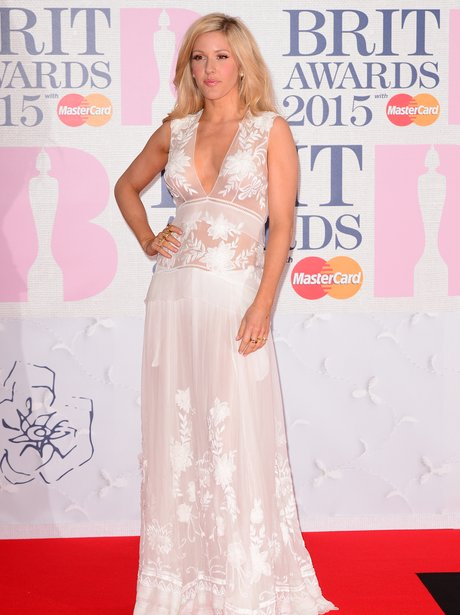 BRIT Awards 2015 - Ellie Goulding LoveweddingsNG1