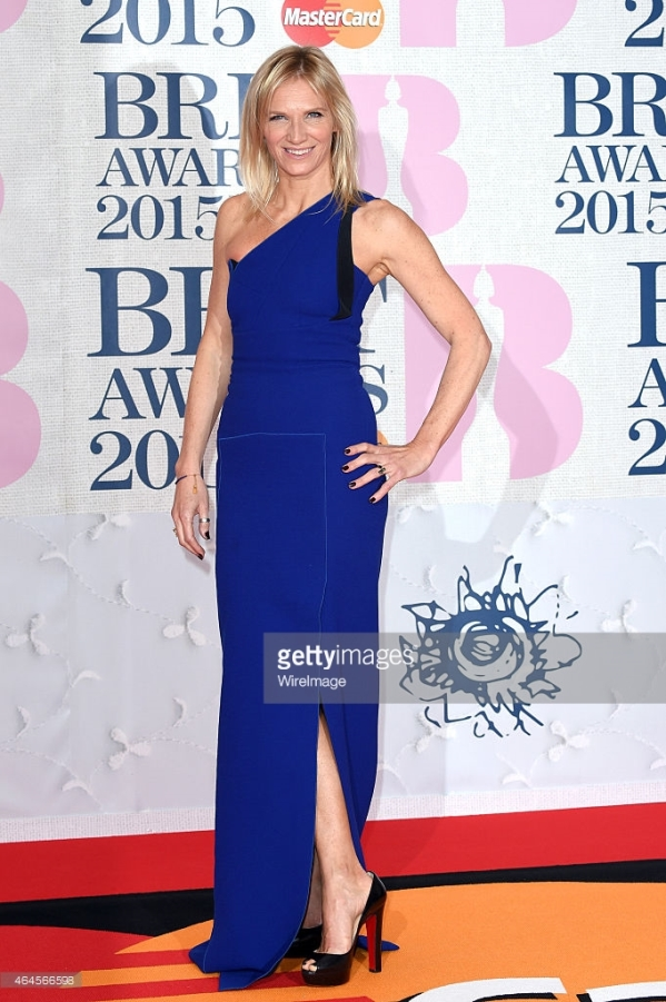 BRIT Awards 2015 -Jo Whiley LoveweddingsNG