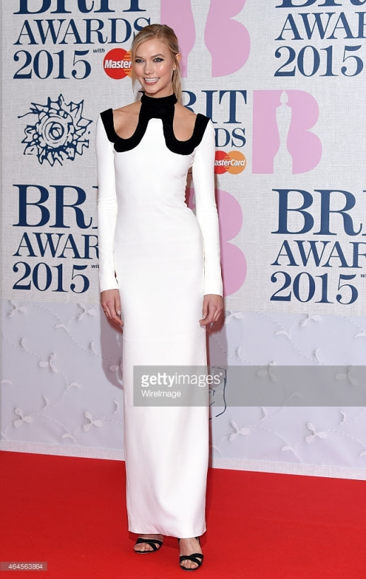 BRIT Awards 2015 - Karlie Kloss  LoveweddingsNG1