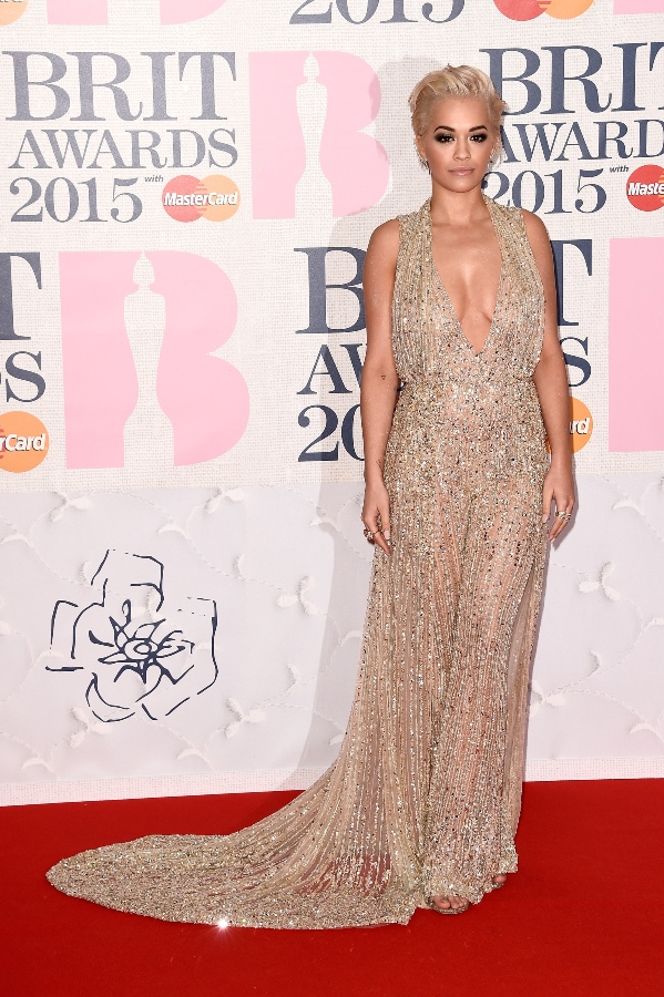BRIT Awards 2015 - Rita Ora LoveweddingsNG1