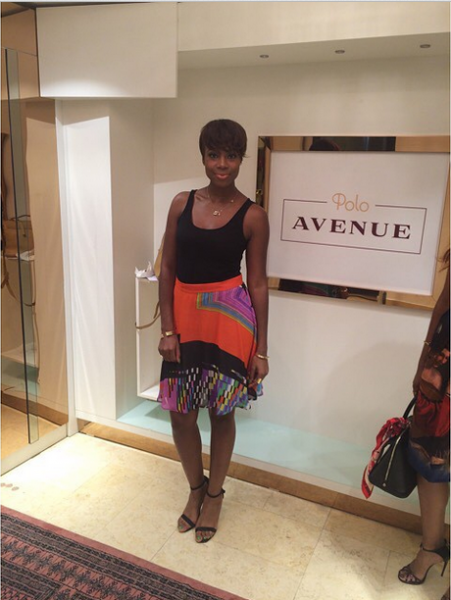 Genevieve Magazine Website Launch - Maria Okarende