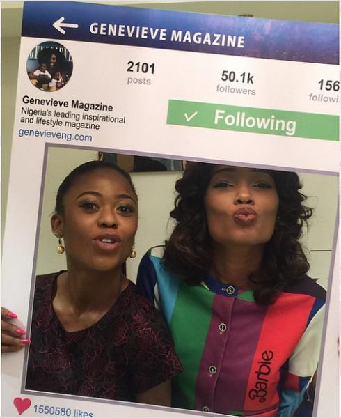Genevieve Magazine Website Launch - Mariam Adeyemi & Jessica Ulo